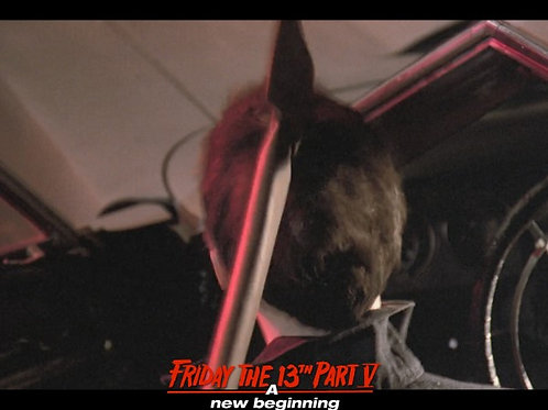 Bob DeSimone Friday the 13th Part V - Getting the Axe 8X10