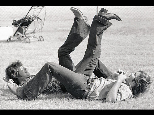 Bill Vail and Allen Danziger TCM - Graveyard Break Time - 8X10