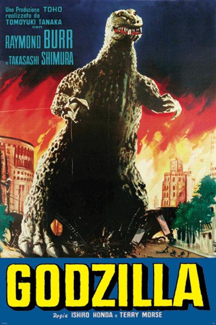 "Godzilla 24""X36"" Poster"