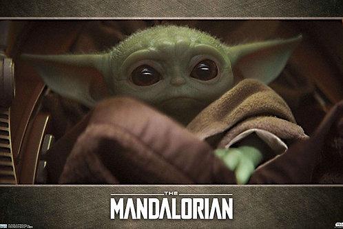 "Star Wars Baby Yoda Eyes 22""X34"" Poster"