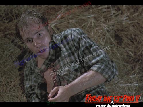 John Shepherd - Friday the 13th Part V - Barn 7 - 8X10