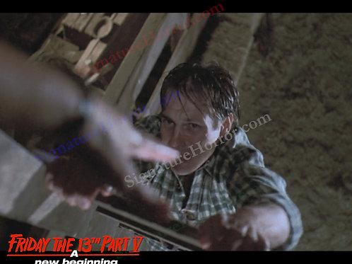 John Shepherd - Friday the 13th Part V - Barn 9 - 8X10
