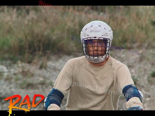 Bill Allen as Cru Jones in RAD - Helmet 2 - 8X10