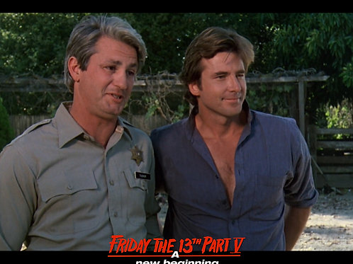 Marco St John and Richard Young Friday the 13th Part 5 - Smiles 8X10
