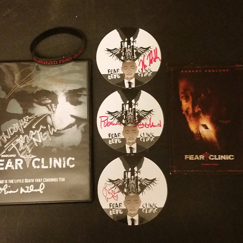 Rare Fear Clinic Package - 8 Signatures - Englund, Hodder, Wilcox