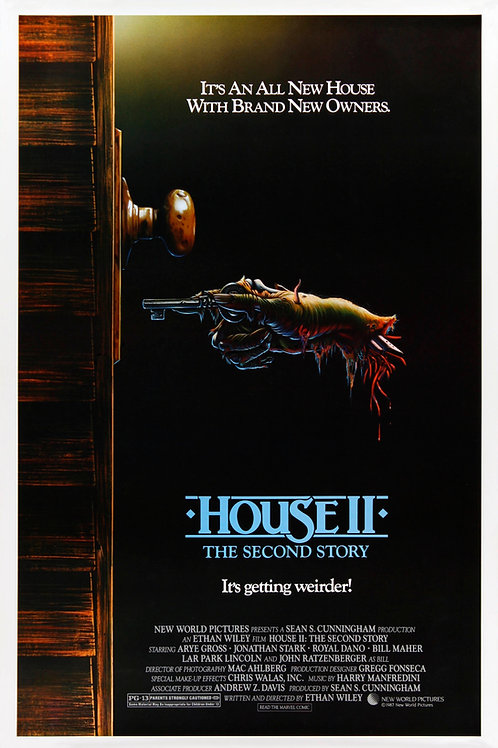 Harry Manfredini House II: The Second Story 11X17 Movie Poster