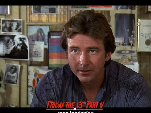 Richard Young as Matt Friday the 13th Part 5 - Office Closeup 8X10
