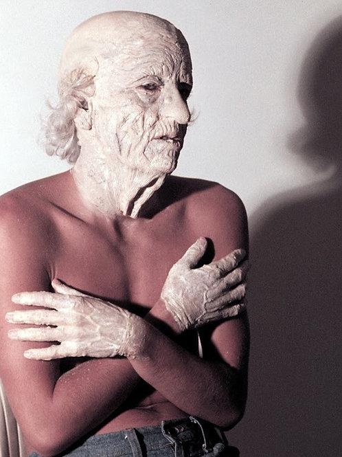 John Dugan The Texas Chainsaw Massacre - Behind the Scenes Makeup - 8X10