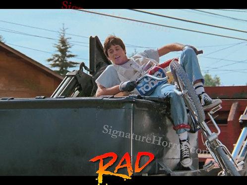 Bill Allen as Cru Jones in RAD - Dumpster Ride - 8X10