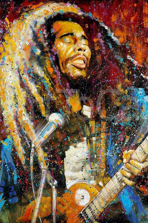 "Bob Marley 24""X36"" Poster"