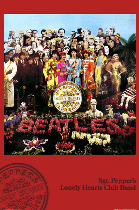 """The Beatles Sgt. Pepper 24""""X36"""" Poster"""