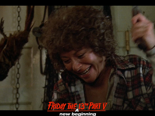 Carol Locatell Friday the 13th Part 5 - Ethel Cleaver Smile - 8X10