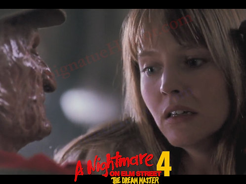 Lisa Wilcox - NOES 4 - Alice Up Close With Freddy - 8X10