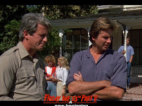Marco St John and Richard Young Friday the 13th Part 5 - Tragedy Stikes 8X10