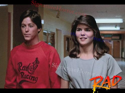 Bill Allen as Cru Jones in RAD - Hallway with Christian - 8X10
