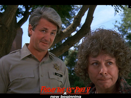 Carol Locatell and Marco St John Friday the 13th Part 5 - Stare at Junior 8X10