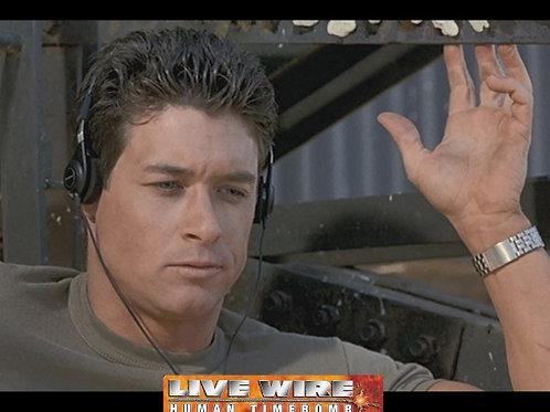 Bryan Genesse - Live Wire Human Timebomb - Headphones - 8X10