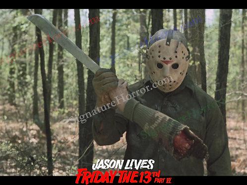 Tom McLoughlin - Jason Lives - Arm Off - 8X10