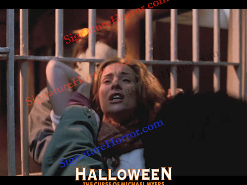 Marianne Hagan - Halloween 6 - Choking with Bars 2 - 8X10
