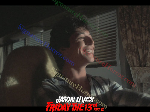 Tom Fridley - Jason Lives: Friday the 13th Part VI - Driving and Smiling - 8X10