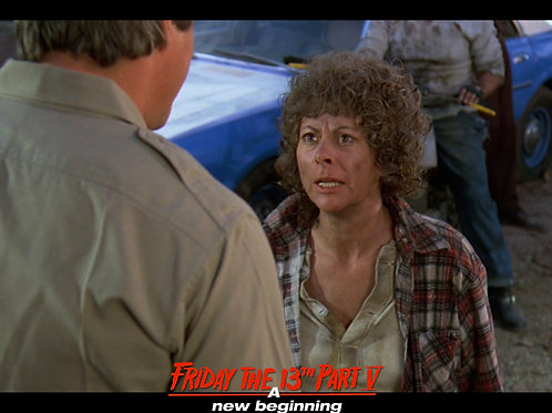 Carol Locatell Friday the 13th Part 5 - Ethel 2- 8X10