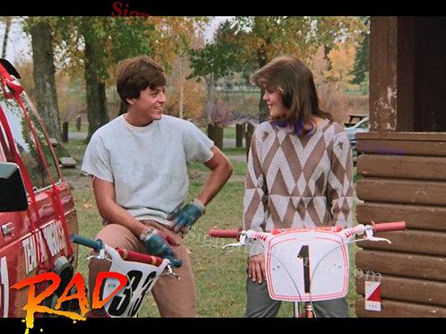 Bill Allen as Cru Jones in RAD - Number 1 - 8X10