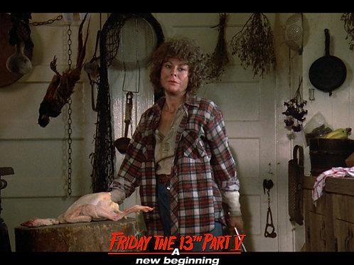 Carol Locatell Friday the 13th Part 5 - Ethel 6 Glare - 8X10