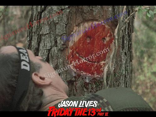Tom McLoughlin - Jason Lives - Tree Smiley - 8X10
