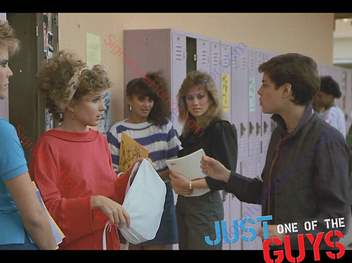 Deborah Goodrich - Just One Of The Guys - Locker Advice 1 - 8X10