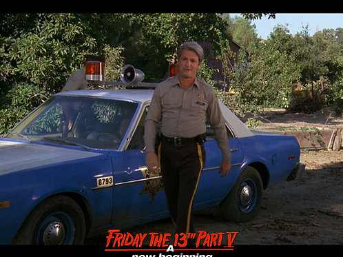 Marco St John as Sheriff Tucker Friday the 13th Part 5 - Arrival 8X10