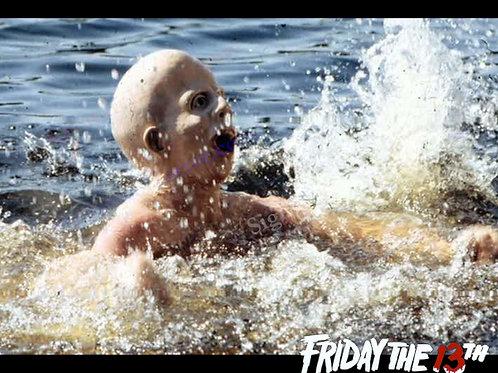 Ari Lehman - Friday the 13th - Splash 1 with Border - 8X10