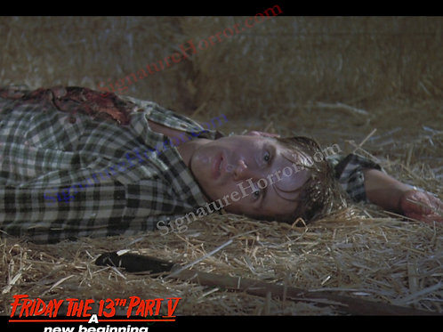 John Shepherd - Friday the 13th Part V - Barn 11 - 8X10