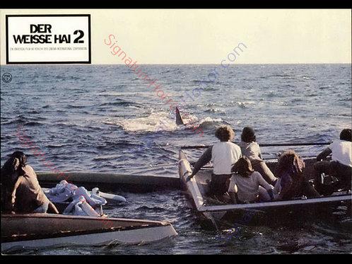 Donna Wilkes - Jaws 2 - German Lobby Card 1 - 8X10