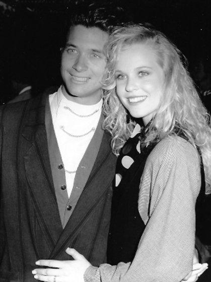 Bryan Genesse and Brooke Theiss - Century Plaza Hotel June 14, 1989 - 8X10