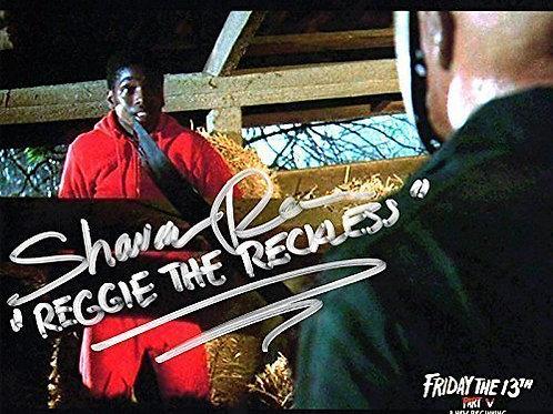 Shavar Ross Friday the 13th Part 5 - 8X10 Reggie with Jason (Roy)
