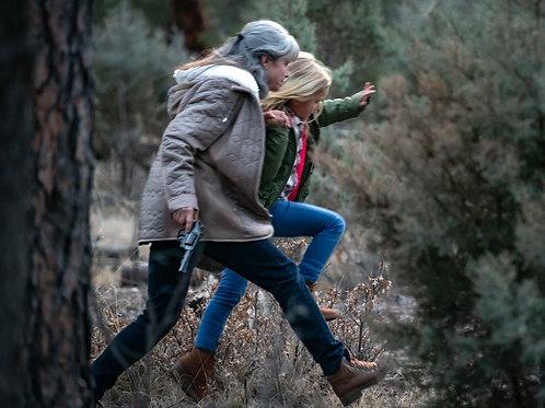 Deborah Voorhees in 13 Fanboy - Running in the Woods 8X10