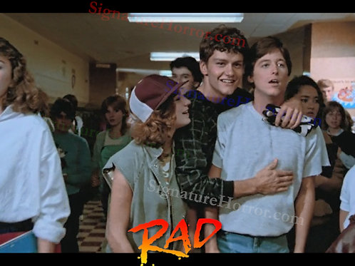 Bill Allen as Cru Jones in RAD - Hallway - 8X10