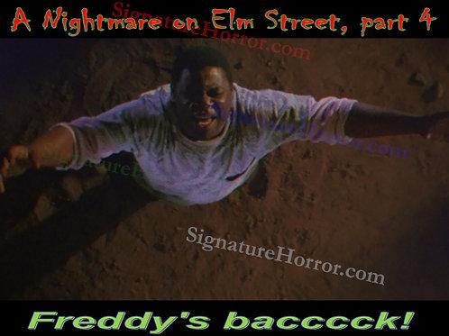 Ken Sagoes - NOES 3 - Freddy's Back - 8X10