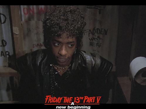 Miguel A Nunez Jr Friday the 13th Part 5 - You're Gonna Get It - 8X10