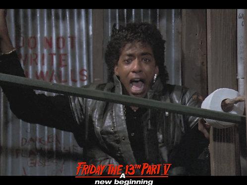 Miguel A Nunez Jr Friday the 13th Part 5 - Demon Spike - 8X10
