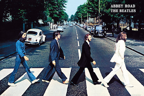 """The Beatles Abbey Road 24""""X36"""" Poster"""