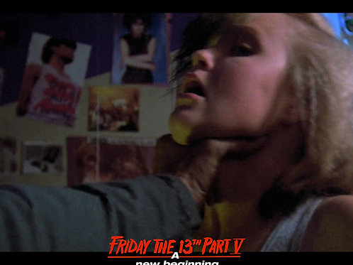 Tiffany Helm as Violet Friday the 13th Part 5 - Choke 2 8