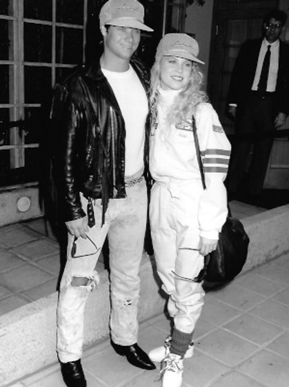 Bryan Genesse and Brooke Theiss - Great American Celebrity Road Rally - Nov. '89