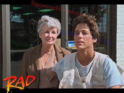 Bill Allen as Cru Jones in RAD - Beat the Clock - 8X10