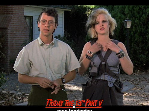Tiffany Helm as Violet Friday the 13th Part 5 - With Jake 8