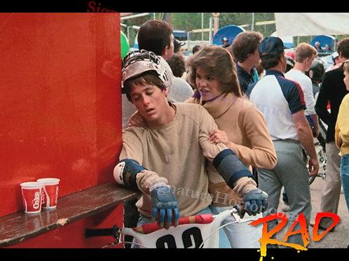 Bill Allen as Cru Jones in RAD - Qualifying Exhaustion - 8X10