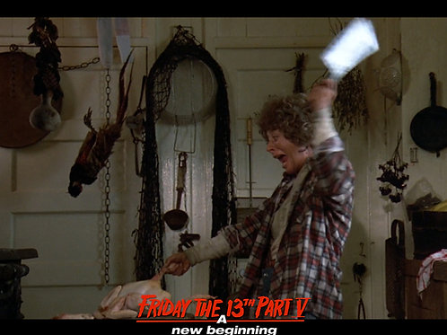 Carol Locatell Friday the 13th Part 5 - Ethel Cleaver Scream - 8X10