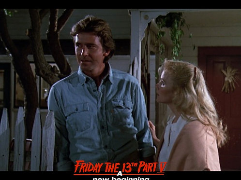Richard Young as Matt Friday the 13th Part 5 - Nighttime with Pam 8X10
