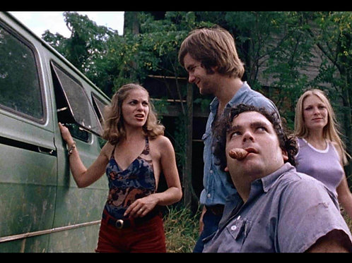 Bill Vail The Texas Chainsaw Massacre - With Pam, Franklin, Sally - 8X10