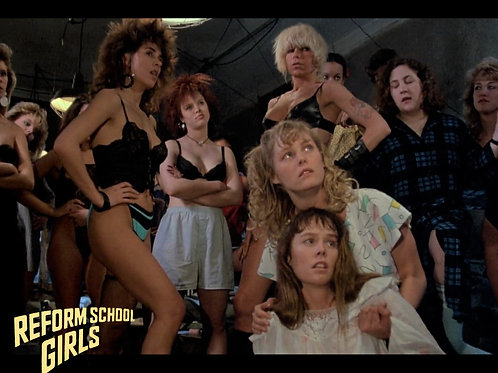 Tiffany Helm and Darcy DeMoss Reform School Girls - Group Shot 8X10